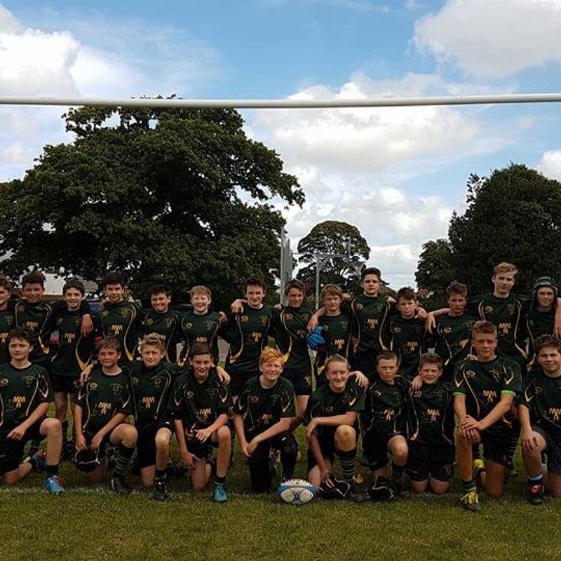 Under 14s lose to Painswick RFC 17 - 12