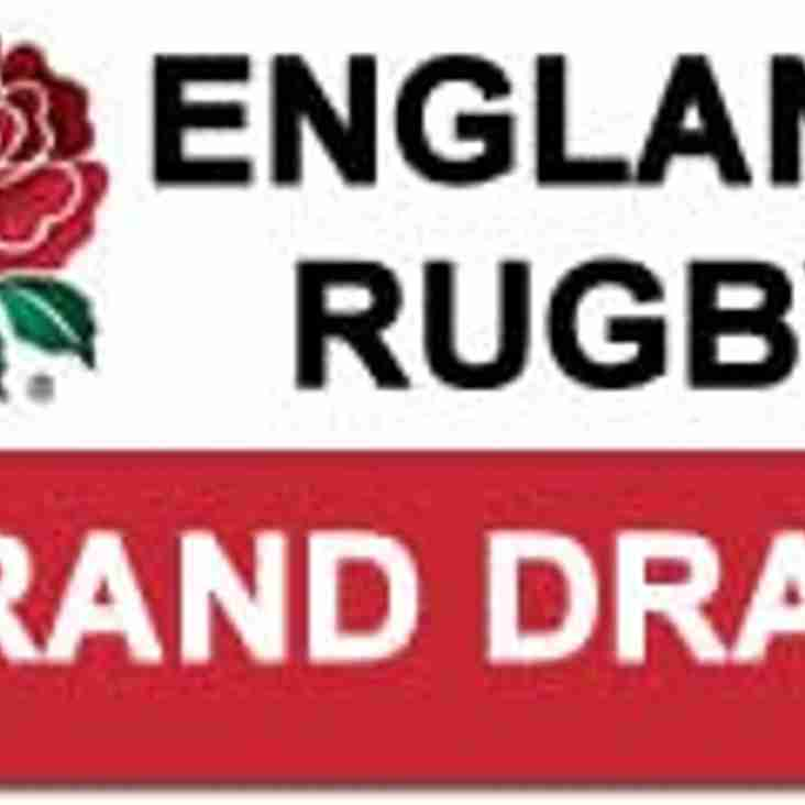England Rugby Grand Draw Winners 2016/17