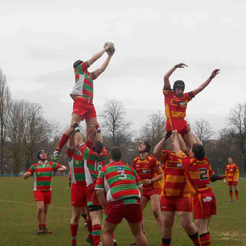 Warrington 2 - v De La Salle 2, 28.2.2015