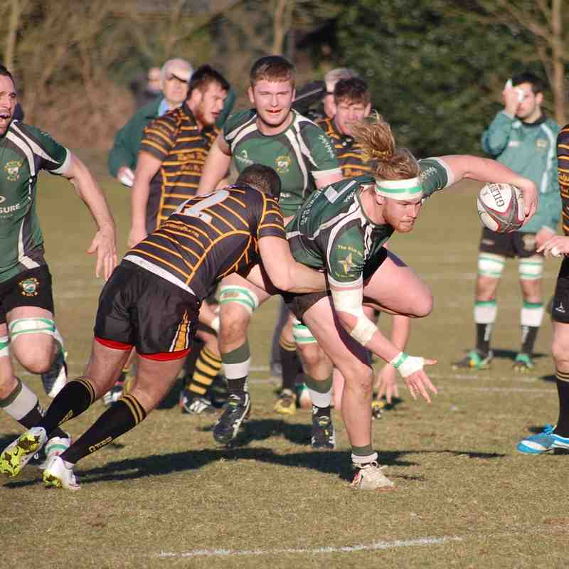 Heathfield 1st v Bromley 7 Mar 15