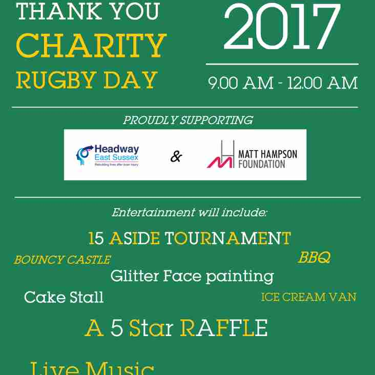 Joe Sandford Day 2017