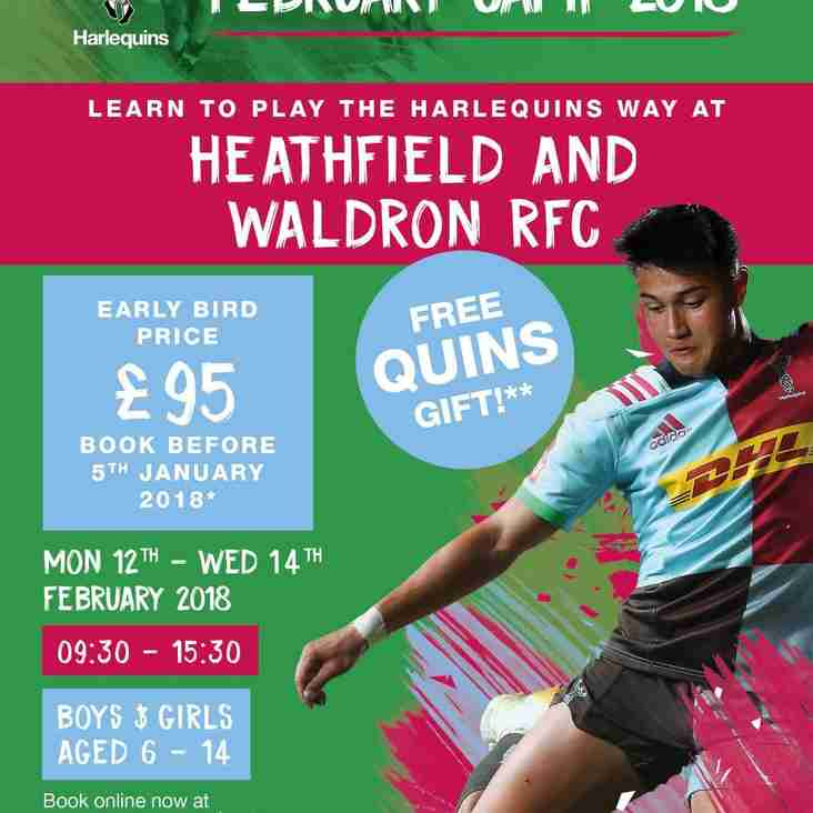 Quins at Heathfield