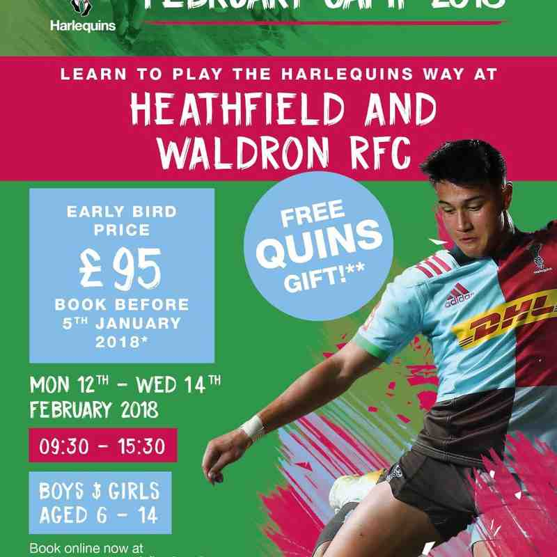 Quins Day feb 2018