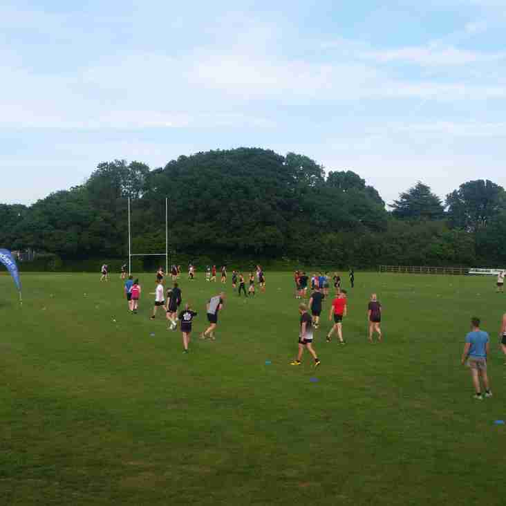 Growing numbers for O2 Touch on Wednesday evenings
