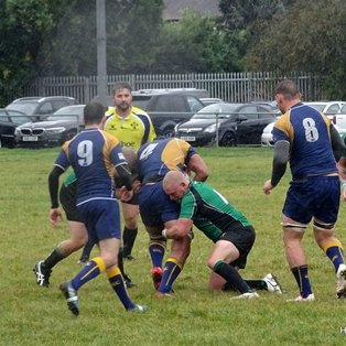 Big Beckenham rumble over Heathfield in the wet