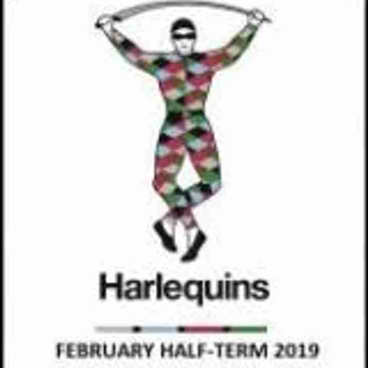 Half Term Harlequins Rugby Camp February 2019