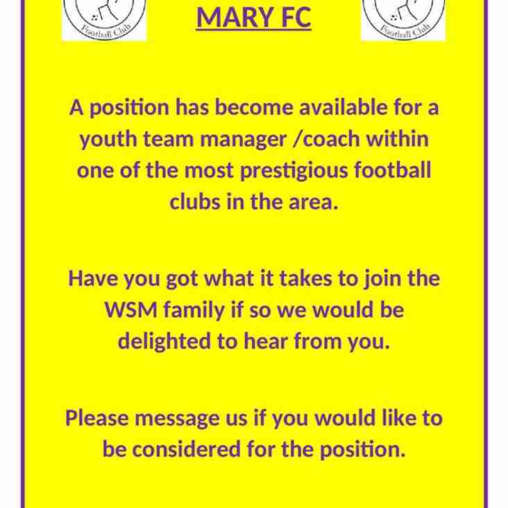 Available Position