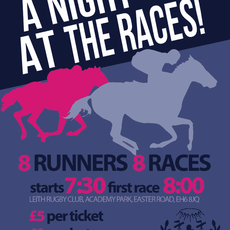 Race Night comes galloping into Leith