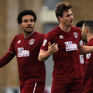 Clarets Rule Over Dartford With Church Strike