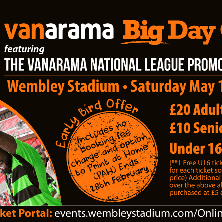 Vanarama BIG Day Out