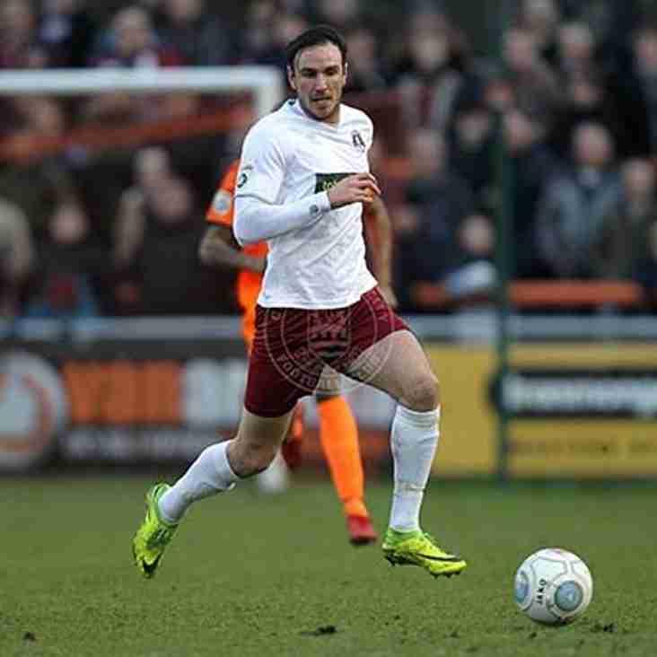 City midfielder departs for Towners