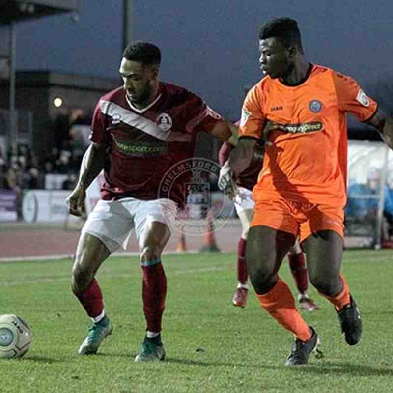 Braintree Town (H) 01/01/2018 (Vanarama National League South)