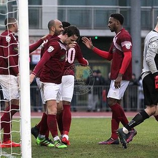 Clarets at the double to end winless run