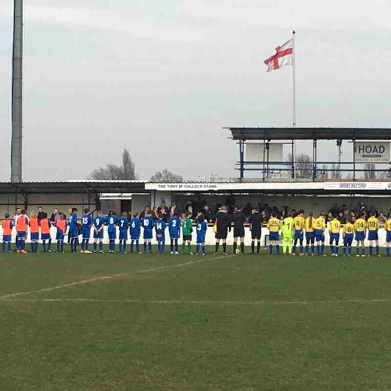 Chelmsford City U13s (Blues) v Notley Youth (Kestrels) - 2017/18 Blackwater & Dengie Division 3 League Cup Final