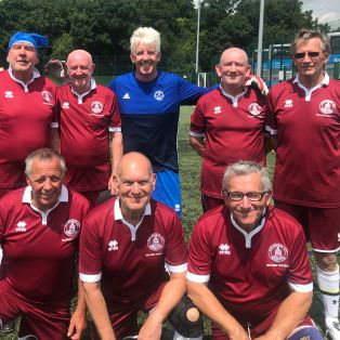 Walking Football side successful in Essex competition