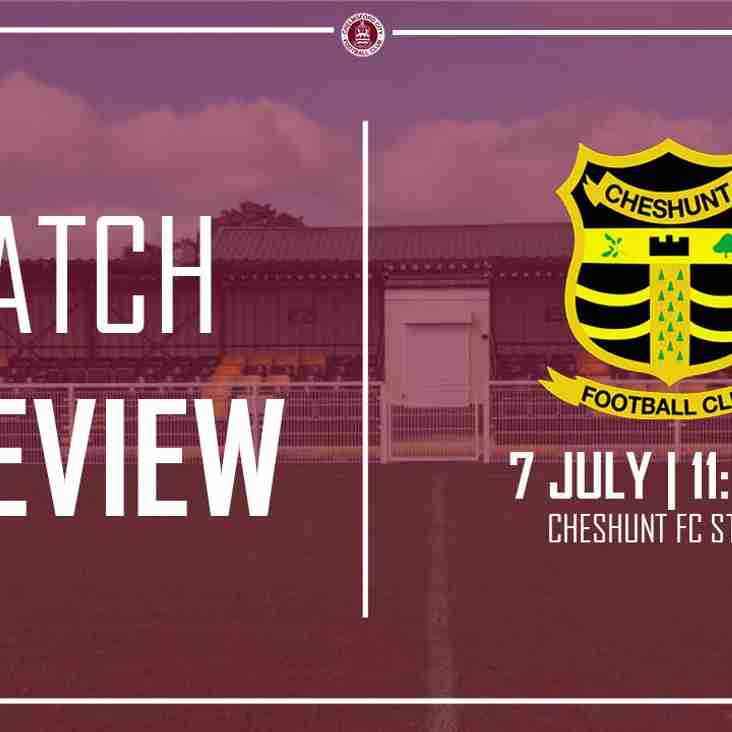 Preview: City begin pre-season at Cheshunt