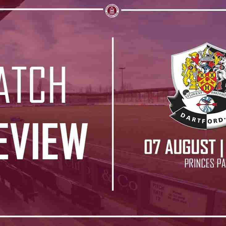 Clarets head to Dartford for local derby