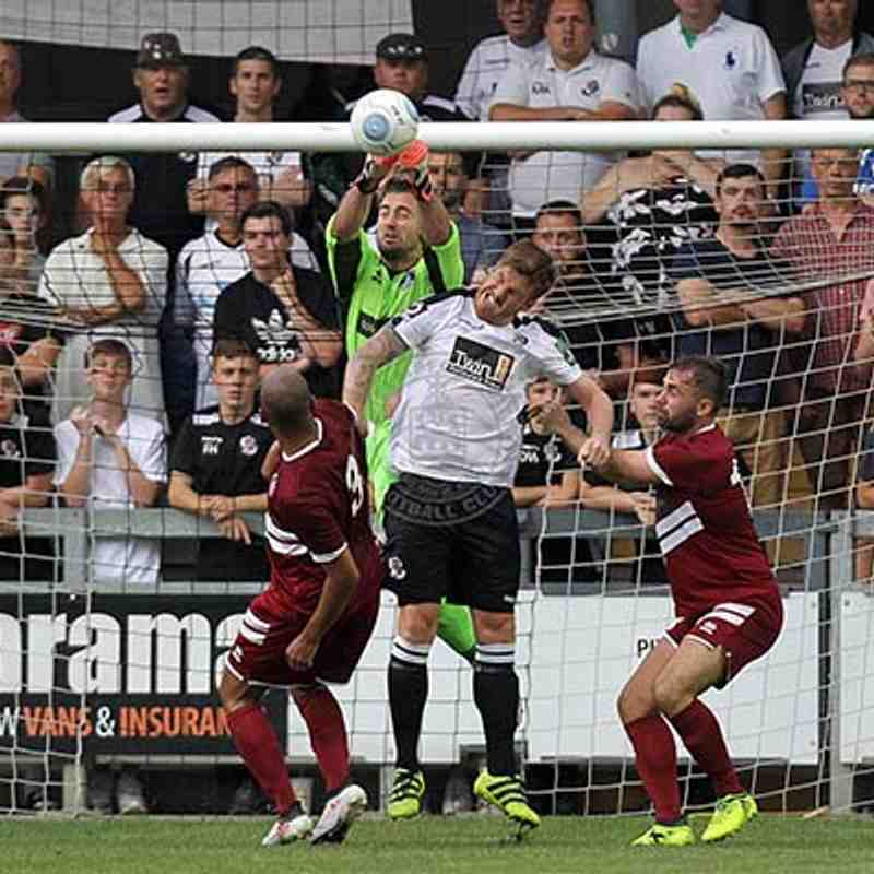Dartford (A) 07/08/2018 (Vanarama National League South)