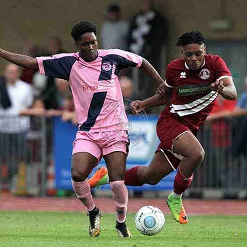 Dulwich Hamlet (A) 13/08/2018 (Vanarama National League South)