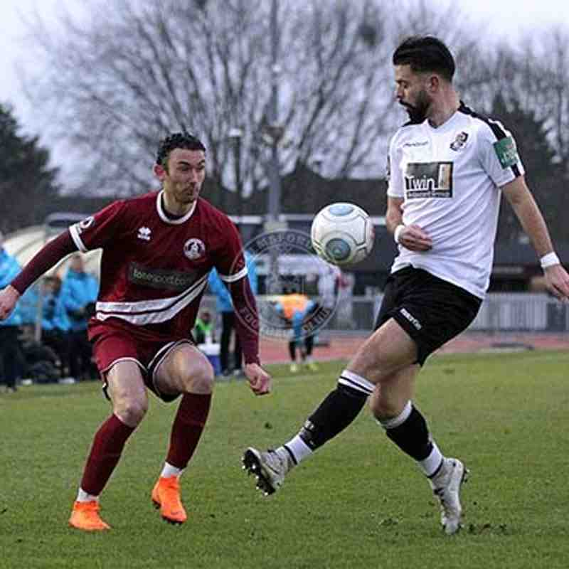 Dartford (H) 19/01/2019 (Vanarama National League South)