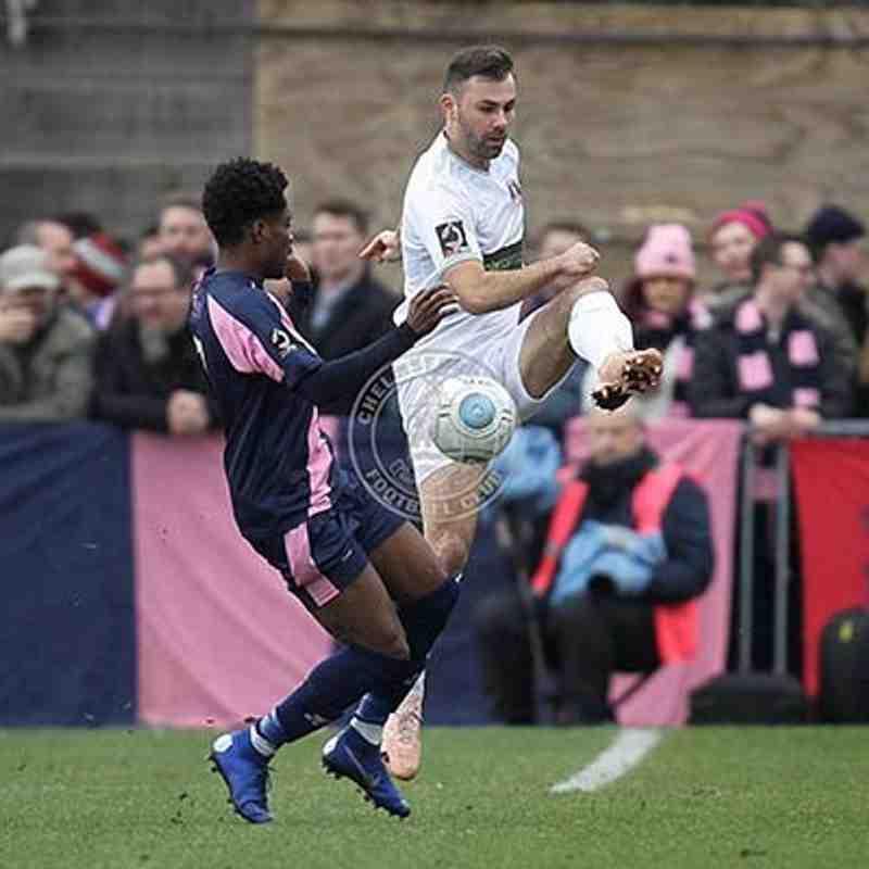 Dulwich Hamlet (A) 26/01/2019 (Vanarama National League South)