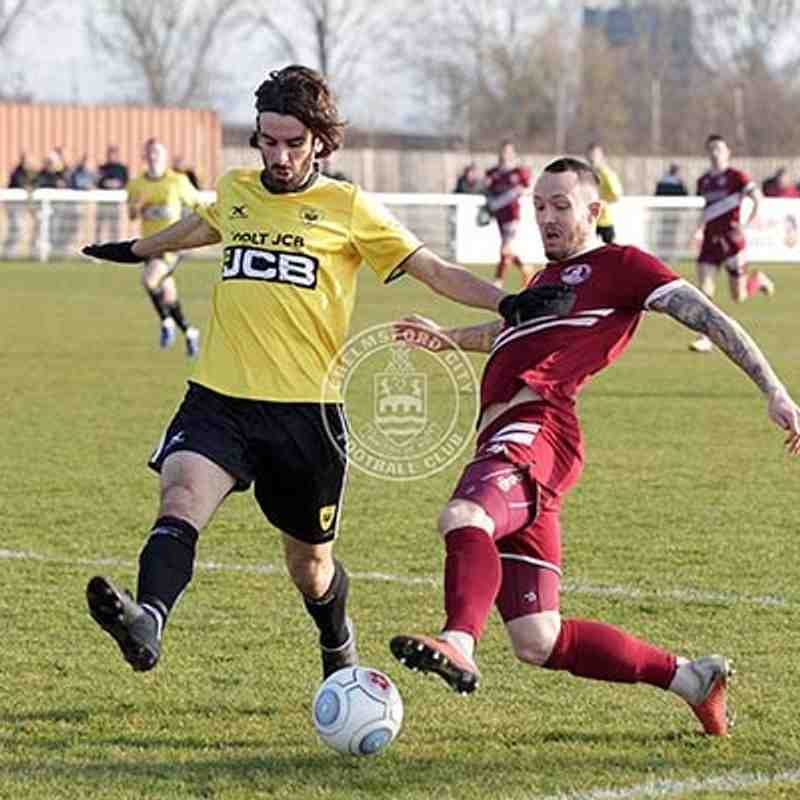 Gloucester City (A) 23/02/2019 (Vanarama National League South)