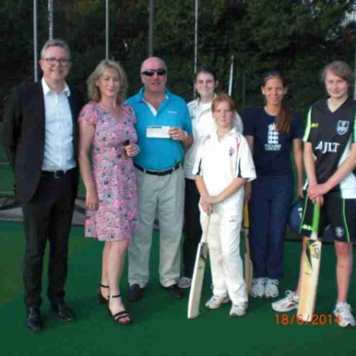 Thanks to Mark Youll Estate Agents for supporting our ladies cricket team!
