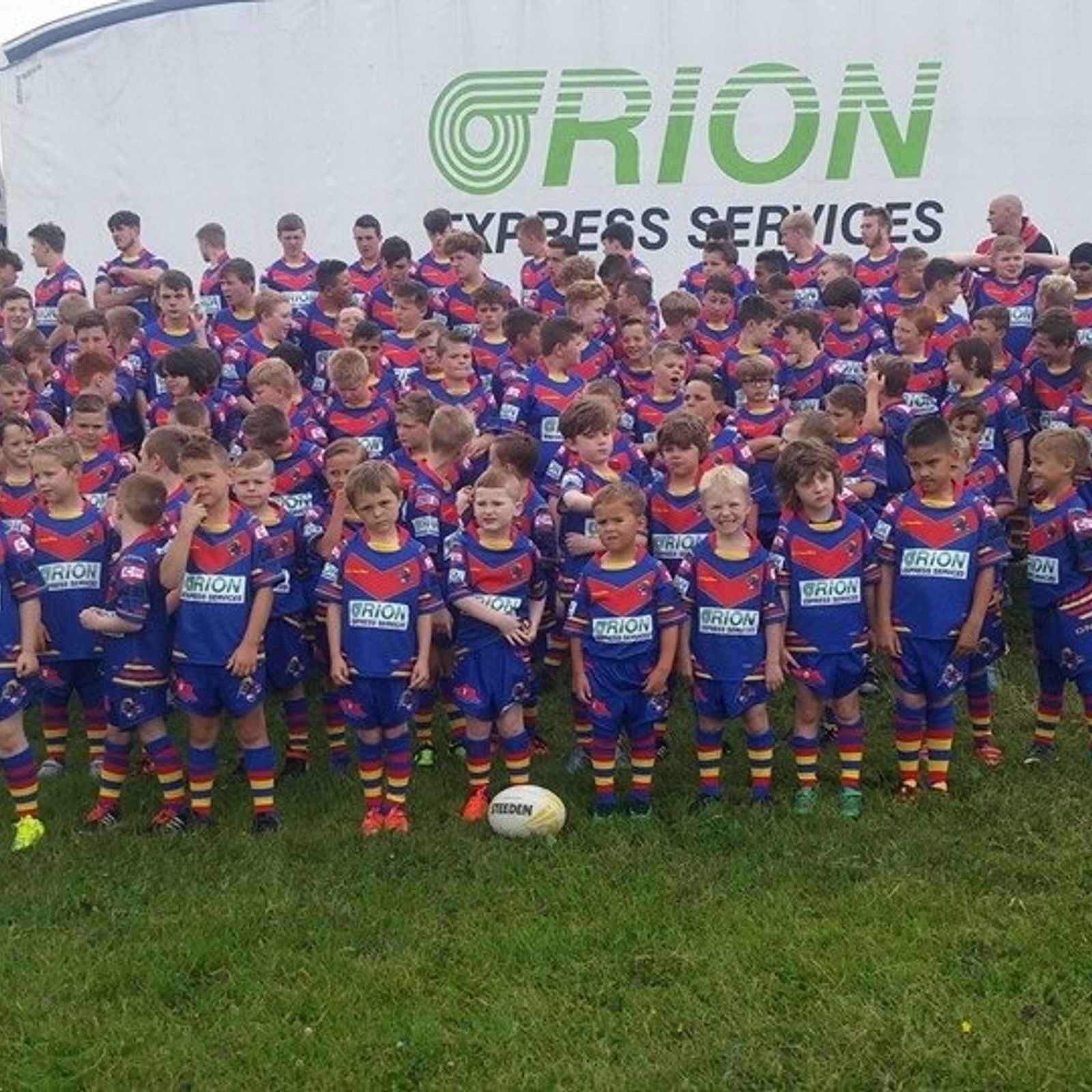 Photoshoot with our New sponsor Orion Express Services