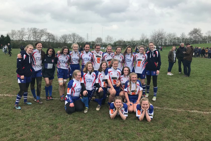 Mighty Leek Under 15 girls through to the national cup final