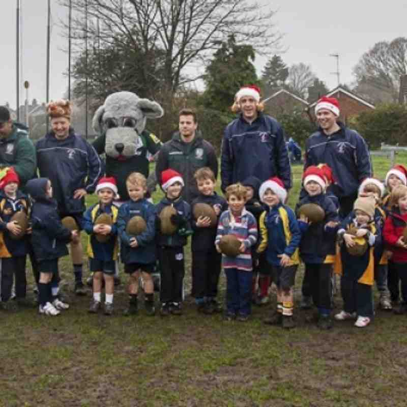 Christmas with London Irish