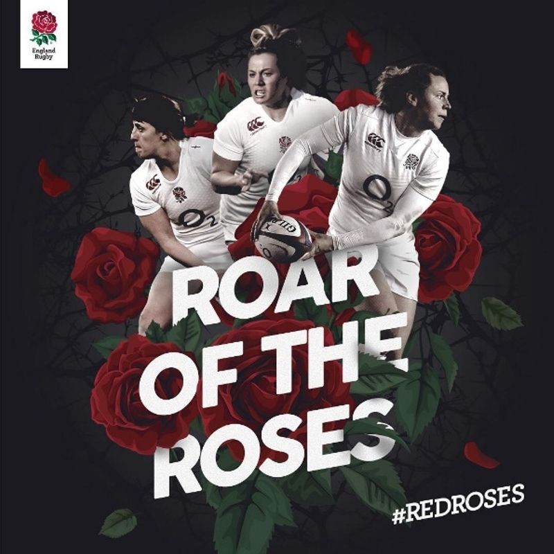 Hear the roar... England's Red Roses