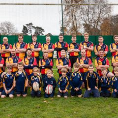 Mini Mascots - 2nd XV vs Puddletown