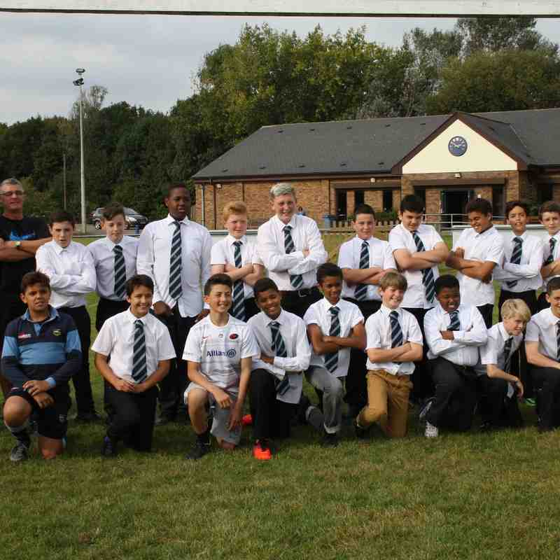 Manor U13's team photograph