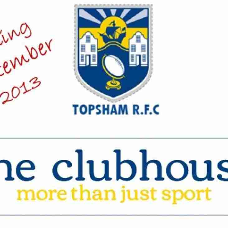 New Clubhouse Website