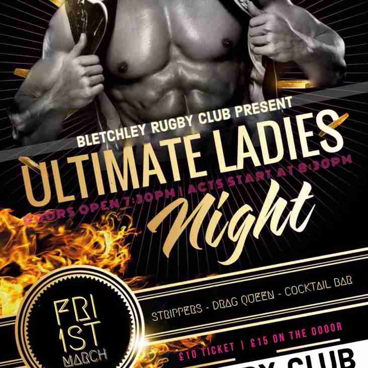 BRUFC LADIES NIGHT...