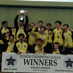 Champions league tournament winners u15s