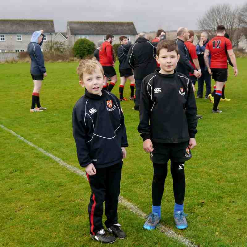 Mackie 1st XV vs Dunfermiline Mascots (plus some game shots)