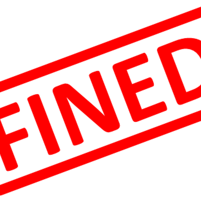 Bedworth RFC Fines.....