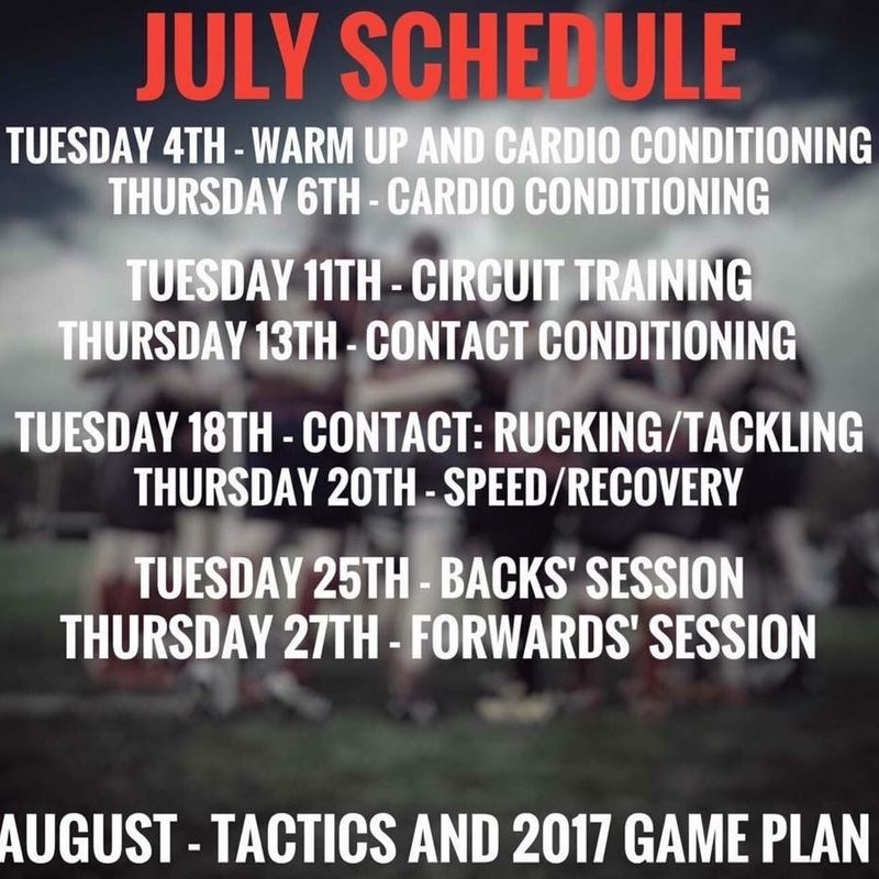Pre-Season is Here!!!