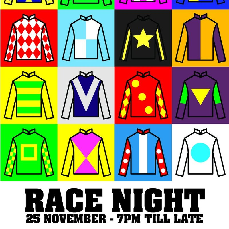 Race Night on Saturday 25th November