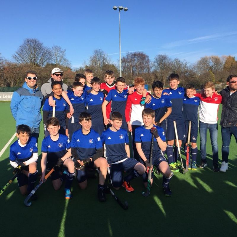 Boys U14s reach National Finals