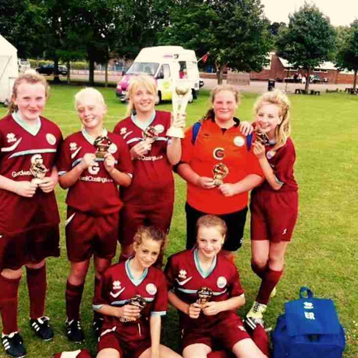 Diamonds win at sprowston tournament