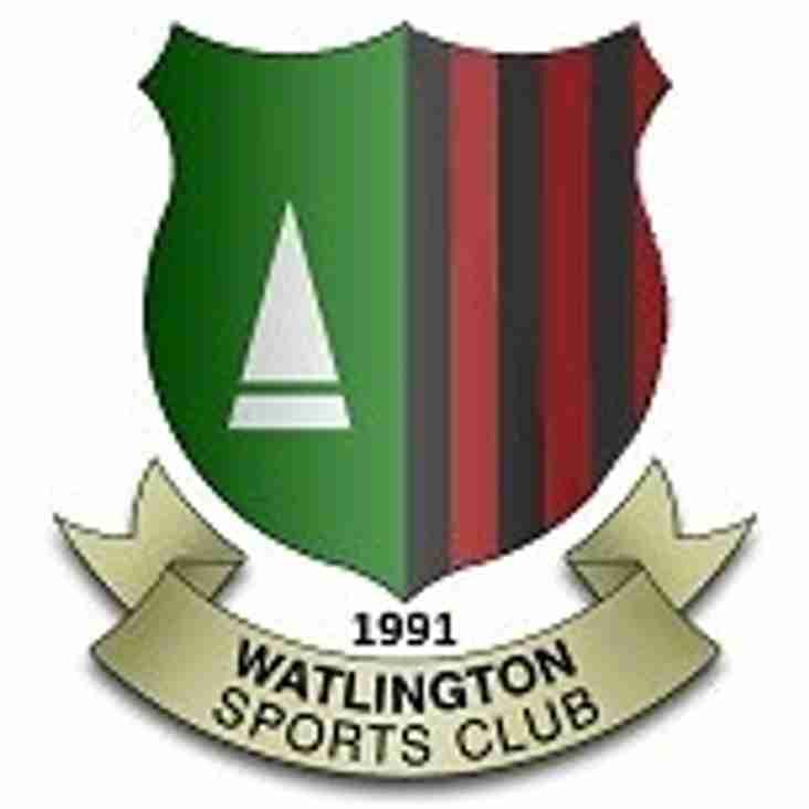 Watlington Sports Club AGM - Sunday 5th February