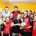 1st Team claim NBFL Team of the Month award