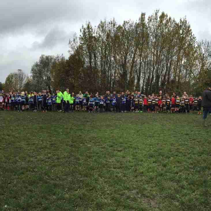 U10 Remembrance Sunday at Farnborough