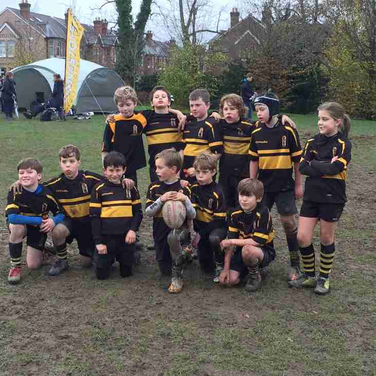 U10's Solid weekend at Winchester Festival