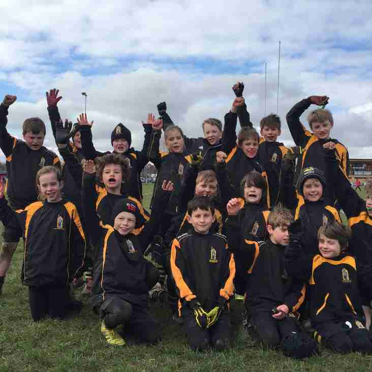 WRFC U10's Flying at Farnham