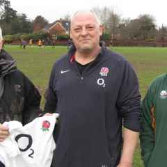 Simon Tattersall and Jon Lamben coach Colts 24/1/16