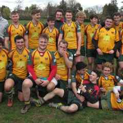 """Colts """"grand slam"""" OBB league, beating High Wycombe 22-10."""