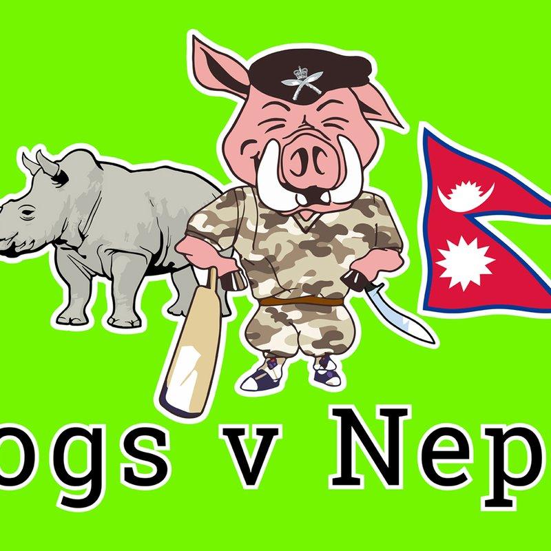 Hampshire Hogs take on Nepal